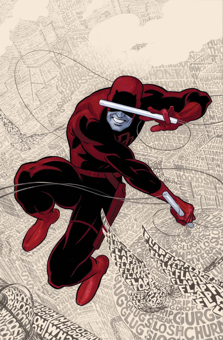 "Waid writer of marvel comics' ""daredevil "" the lawyer superhero"