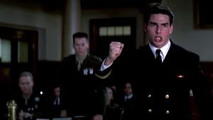 Tom Cruise-Lt Daniel Kaffee